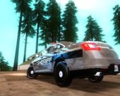 Ford Interceptor Los Santos County Sheriff