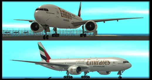 Emirates Airlines 777-200