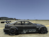 BMW M3 Drift Edition Paint Job