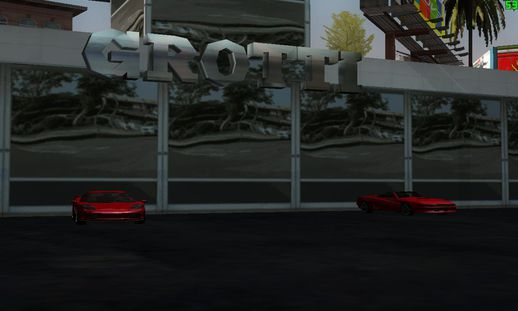 Cheetah and Turismo at Grotti Showroom V2