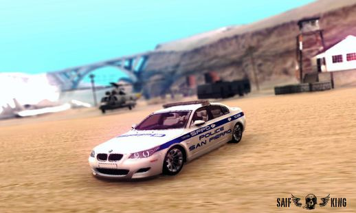 BMW M5 E60 Police SF HD