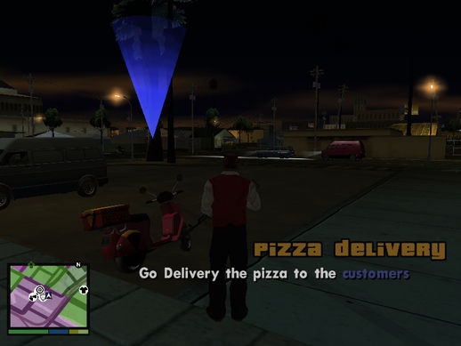 Pizza Delivery Mini Mission