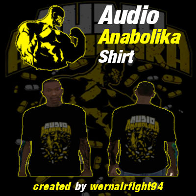 Fler Audio Anabolika Pills Shirt