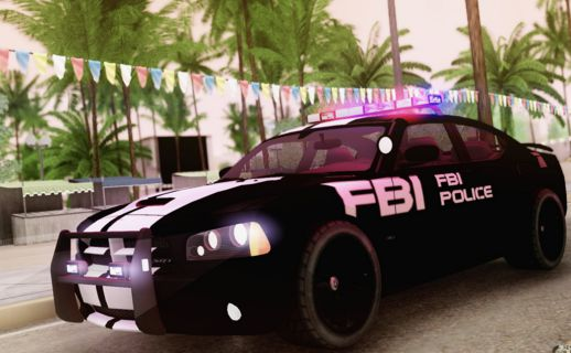 2007 Dodge Charger SRT8 FBI