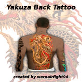 Yakuza Back Tattoo