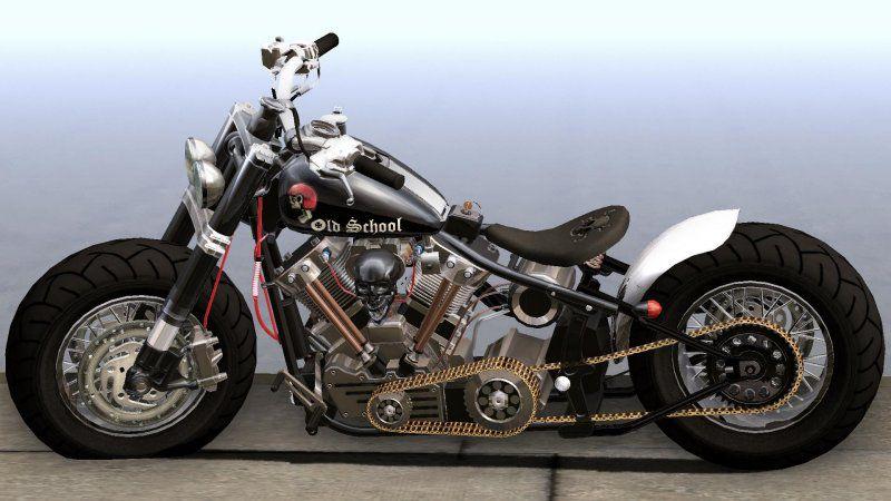 Gta San Andreas Harley Davidson Custom Bobber Mod