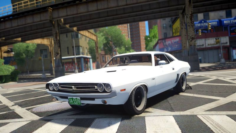 Gta 4 1971 Dodge Challenger Vanishing Point Movie Car Mod