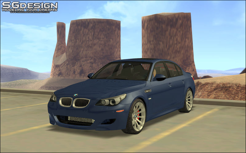 GTA San Andreas 2009 BMW E60 M5 - Stock Mod - GTAinside com