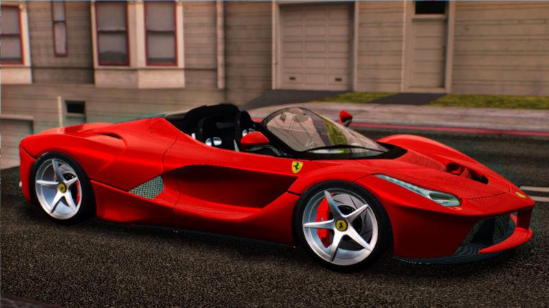 Gta San Andreas 2014 Ferrari Laferrari F70 Mod