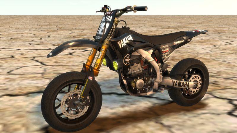 Yamaha Yzf Supermoto