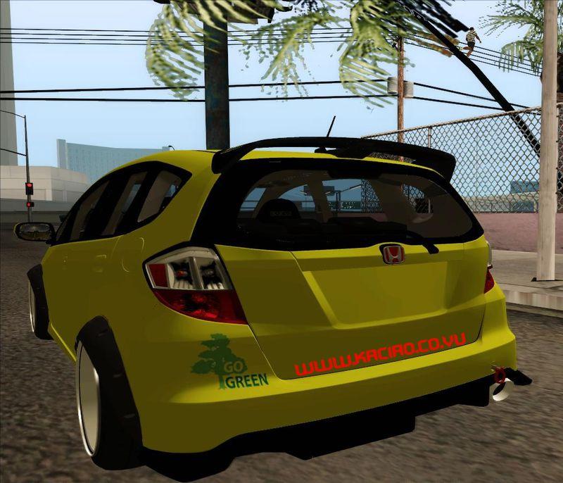 Gta San Andreas Honda Jazz Rs Drift Set Kaciao Mod Gtainsidecom