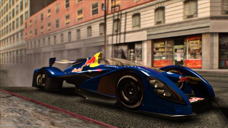 GTA San Andreas 2010 Red Bull X1 Concept - Sebastian ...