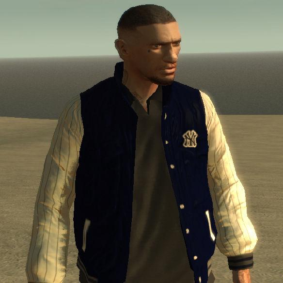GTA 4 Baseball Jacket + PSD Template Mod - GTAinside.com