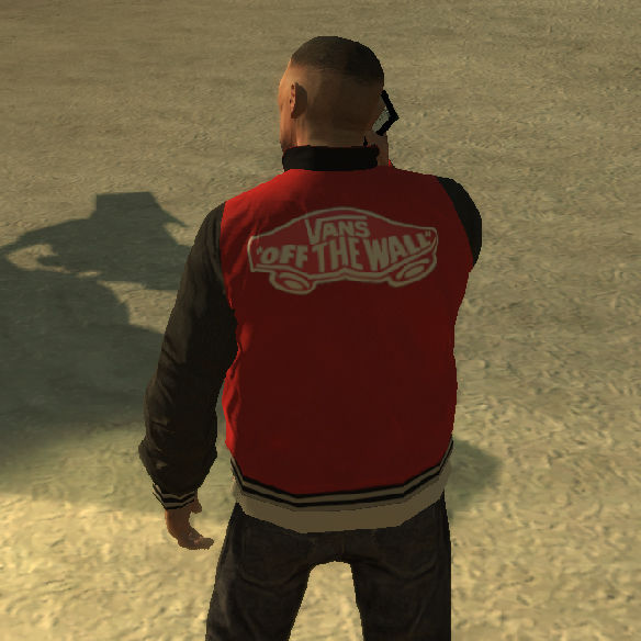 gta 4 baseball jacket psd template mod gtainside com
