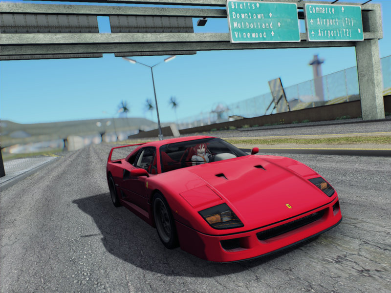 Gta San Andreas Ferrari F40 1987 Mod Gtainside