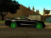 Ford Mustang Shelby GT500KR 427 Black & Green Power