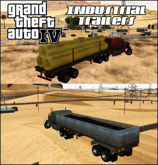 GTA IV Industrial Trailers