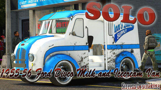 1955-56 Ford Divco Milk and Icecream Van