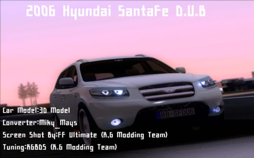 2006 Hyundai SantaFe D.U.B - Junction Produce