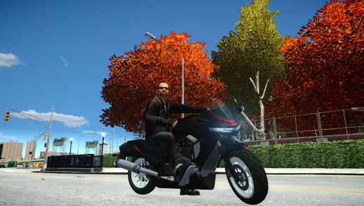 GTA V Thrust Bike