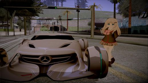 Mercedes Benz SilverArrow