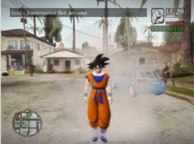 Dragon Ball Transformation Mod V3.3