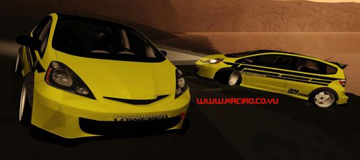 Honda Jazz RS Drift Set Kaciao