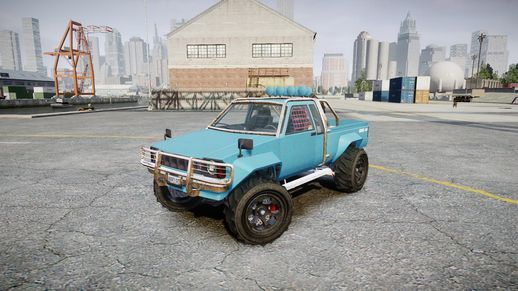 GTA V rebel 4X4
