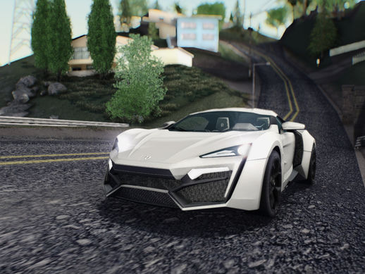 W-Motors Lykan Hypersport 2013