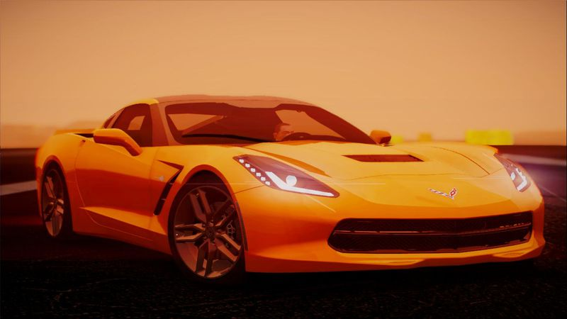 Gta San Andreas 2014 Chevrolet Corvette Stingray C7 Mod Gtainside