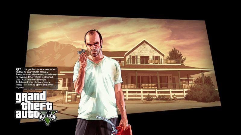 GTA 4 GTA V Original Loading Screens Mod - GTAinside com