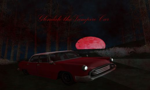 Glendale the Vampire Car