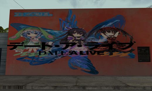 Date a Live Wall