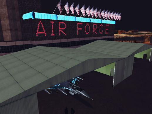 [SGTD]Air Force of any country:The McCarran Air Force Base in Las Vegas