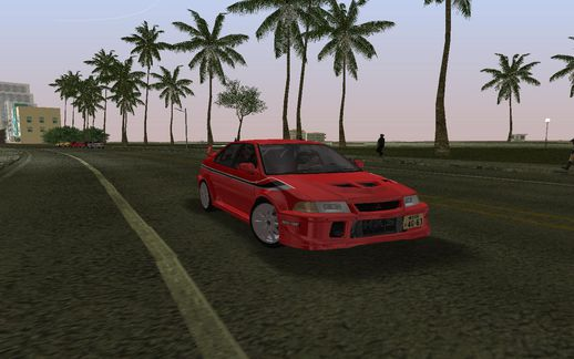 Mitsubishi Lancer Evolution VI Tommy Makinen Edition GSR v1