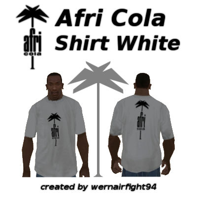 Afri Cola Shirt White
