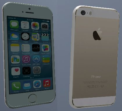 iPhone 5S Gold Edition iOS 8