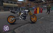 Yamaha YZF SuperMoto Custom