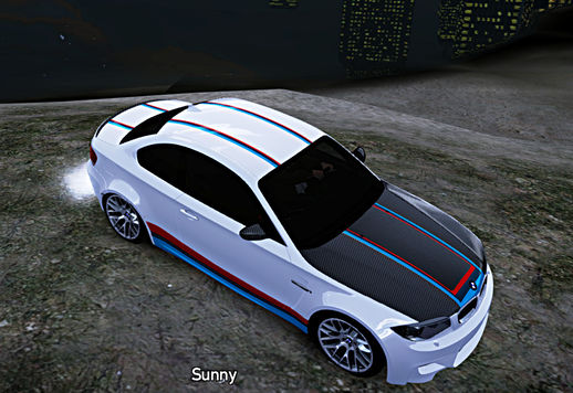 BMW 1M - M Series Paintjob