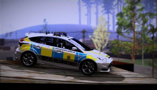2013 Ford Focus ST British Hampshire Police
