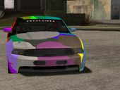 2010 Ford Mustang Roush Stage 3 Colorful Candy