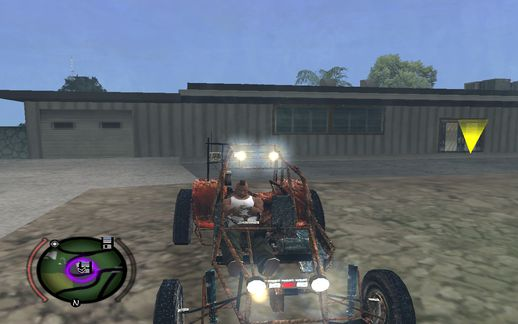 HL2 Buggy Retextured