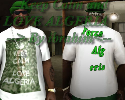 Keep Calm and Love ALGERIA Shirt