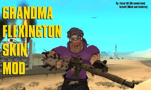 Grandma Flexington (Borderlands 2)
