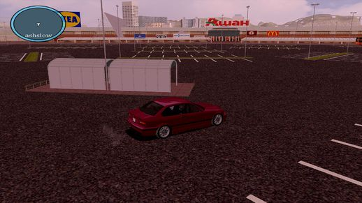 Ashan Drift Track GTA SA Map Mods