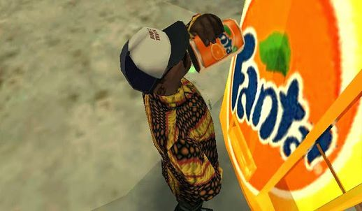 Fanta Orange Drinks machine