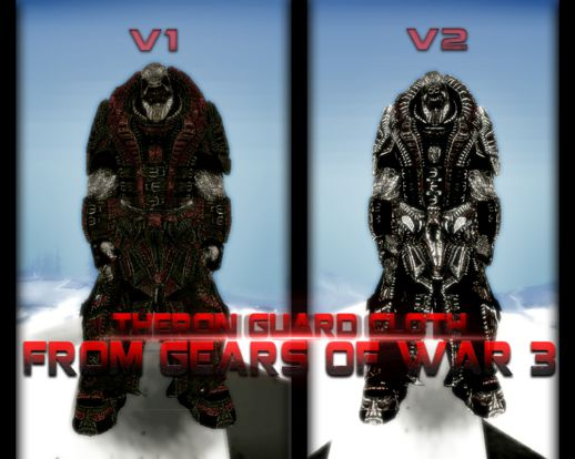 Theron Guard Cloth From Gears of War 3