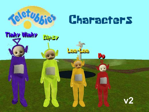 Teletubbies Characters v2