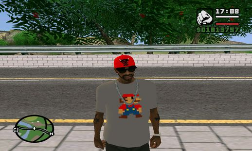 Mario Bross Swag Camiseta