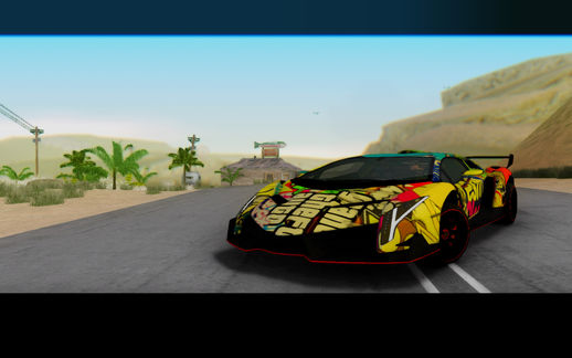 2013 Lamborghini LP750-4 Veneno Stikers Editions